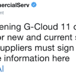 G-Cloud 11: Under starter's orders